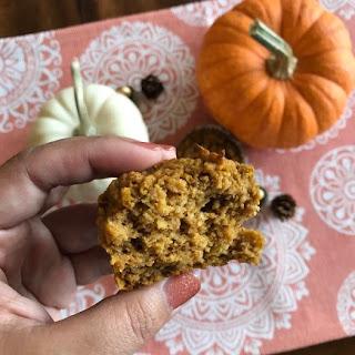 Protein Pumpkin Muffins.