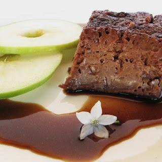 Chocolate Cinnamon Flan.