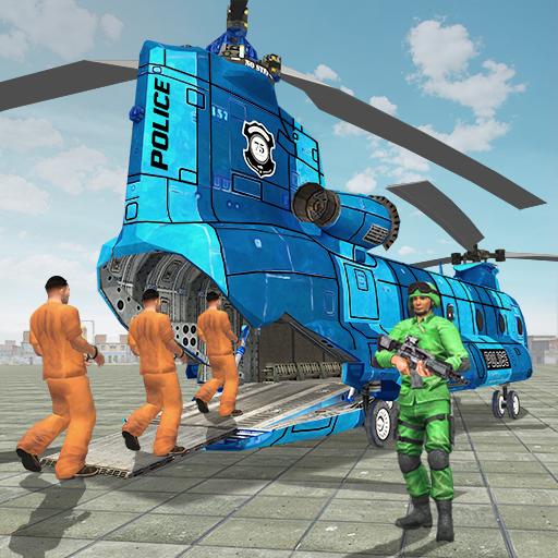 Prisoner Transport Helicopter: Free Bus Games (game)