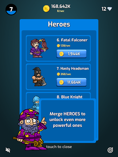 Merge Wars - Idle Hero Tycoon apkmind screenshots 10