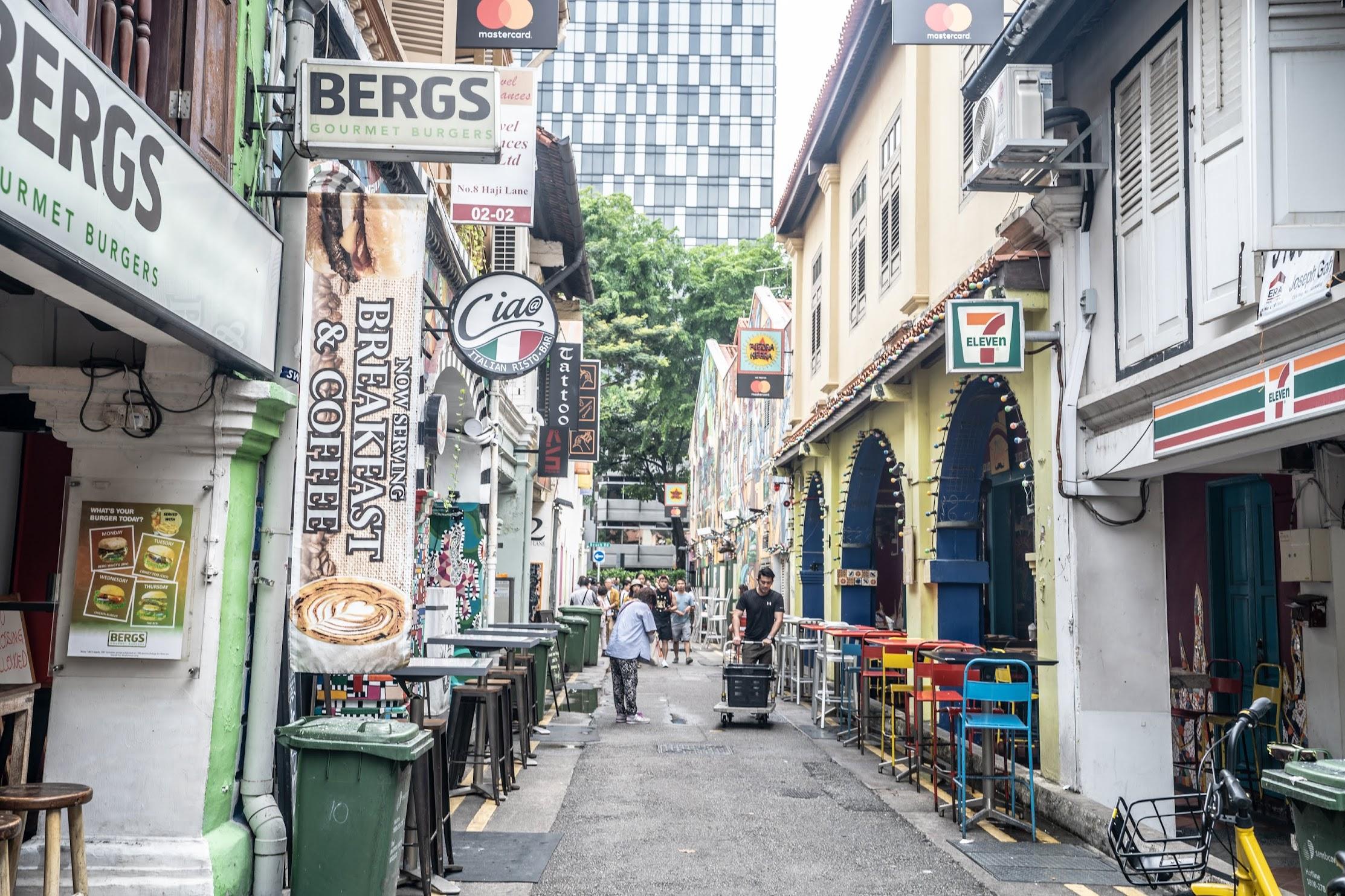 シンガポール ブギス ハジレーン3