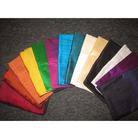 Kuddfodral - Raw Silk 50x50