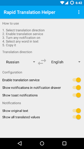 Rapid Translation Helper