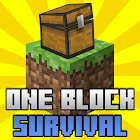 One Block Survival Map