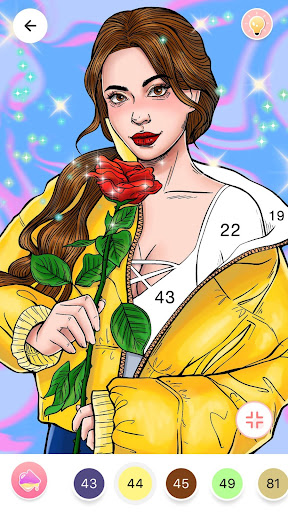 Color By Number, Paint coloring book screenshot 1
