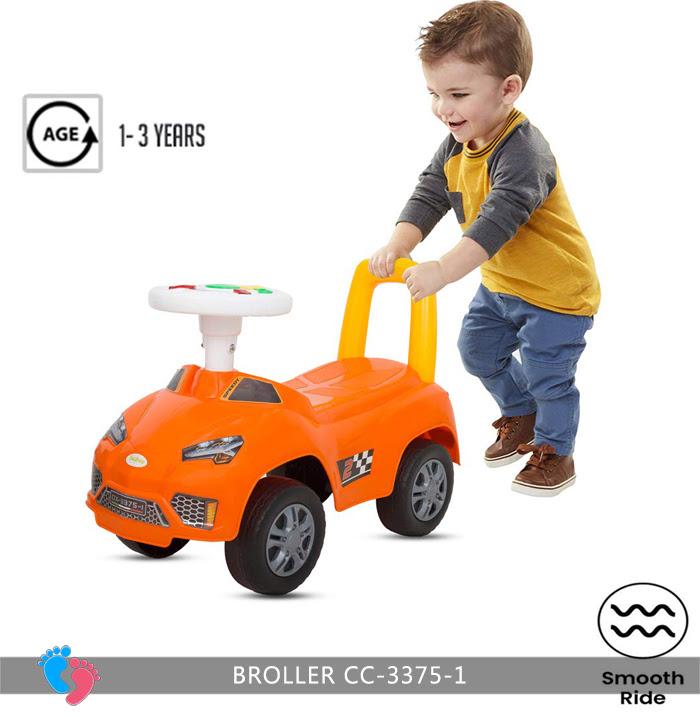Xe ô tô chòi chân cho bé Broller CC-3375-1 có nhạc 4