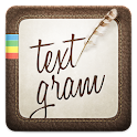 Textgram - write on photos icon
