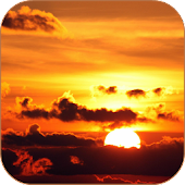 Sunset Clouds Live Wallpaper