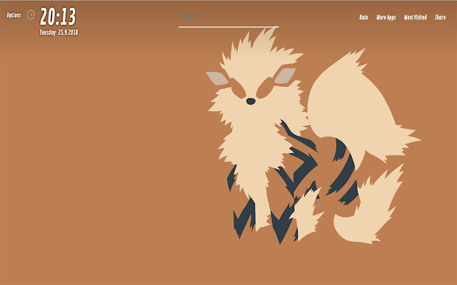 Arcanine Pokemon Wallpapers HD for NewTab