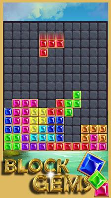 Gems Block Mania Puzzle - screenshot