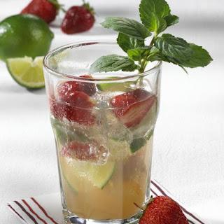 Strawberry Caipirinha.