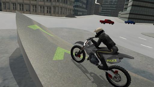 Police Motorbike Driving Simulator apktram screenshots 3