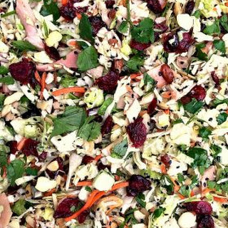 Asian Chicken Cranberry Salad.