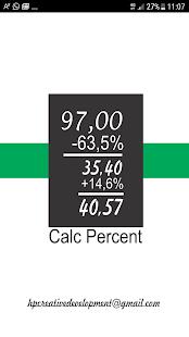 Calculadora Porcentagem - náhled