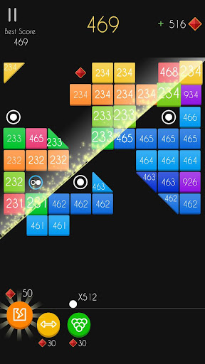 Balls Bricks Breaker 2 - Puzzle Challenge apkdebit screenshots 3