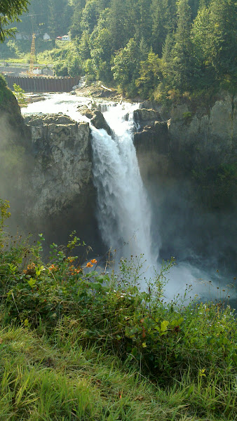 Photo: Great water fall East of Seattle
