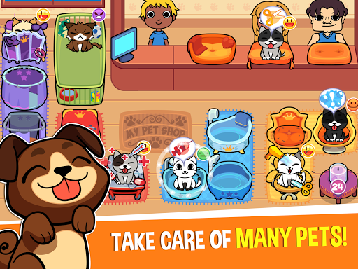 My Virtual Pet Shop - Cute Animal Care Game  screenshots 5