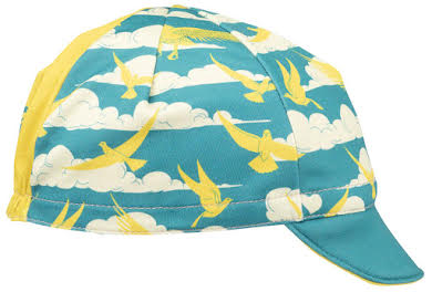All-City Fly High Cycling Cap - Teal, Gold, One Size alternate image 1