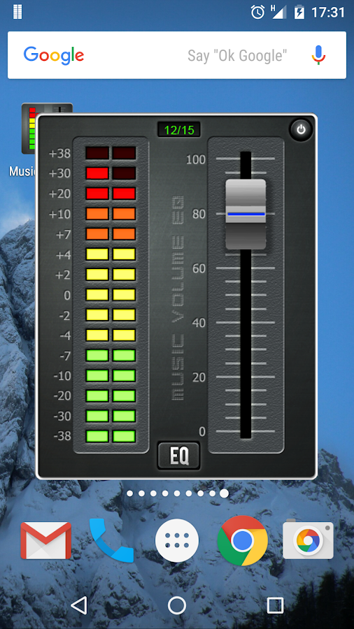 Music Volume EQ + Bass Booster- screenshot