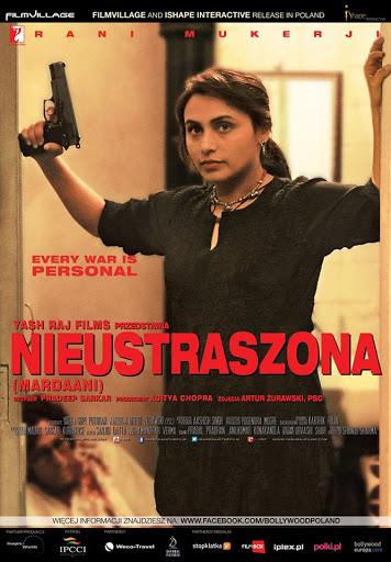 Polski plakat filmu 'Nieustraszona'