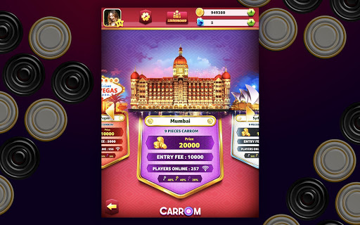 Carrom Friends : Carrom Board Game modavailable screenshots 14