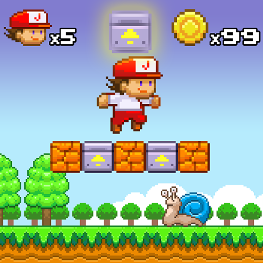 Super Jim Jump - pixel 3d Icon