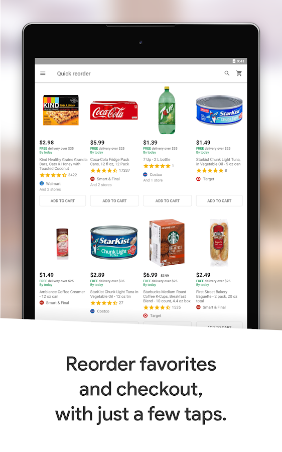 Google Express - Shopping done fast- screenshot