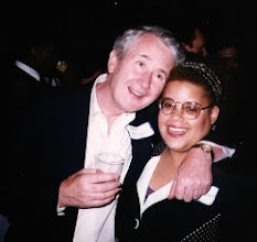 Photo: My high school English teacher at Stuyvesant, the late Frank McCourt, author of Angela's Ashes.  This was at my 10th reunion.