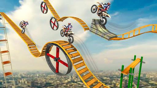 Crazy Bike Racing Stunt 3D 1.1 screenshots 2