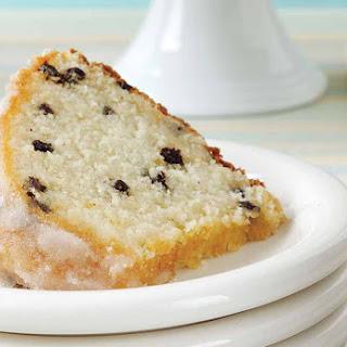 Eggnog Pound Cake.