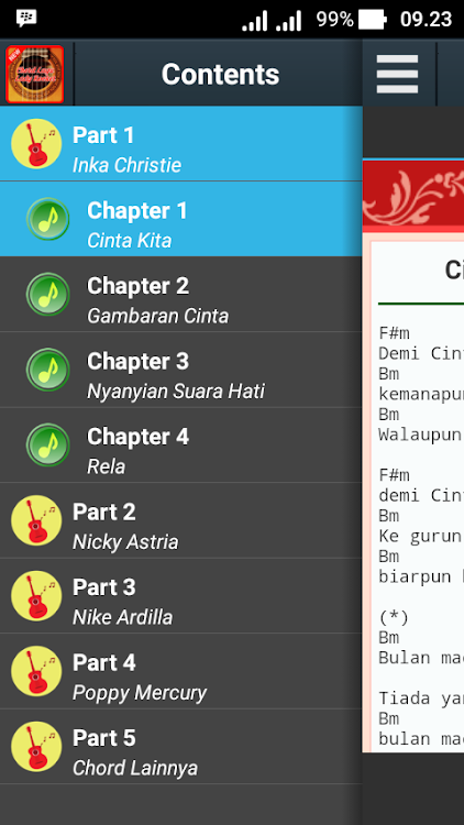 Chord Lagu Lady Rocker Android تطبيقات Appagg