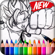 Coloring for Dragon Ball Super DBS