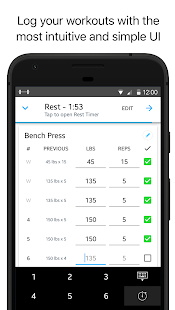 Strong: Exercise Gym Log, 5x5- screenshot thumbnail