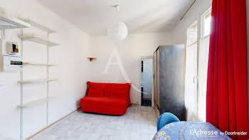 Studio meublé 17,21 m2