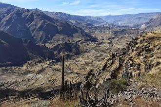 Photo: Vista del Valle del Colca desde el camino a Fortaleza Lari, Caylloma - Arequipa
