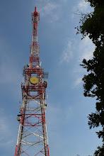 Photo: A Csengő-tető csúcsán átjátszótorony áll