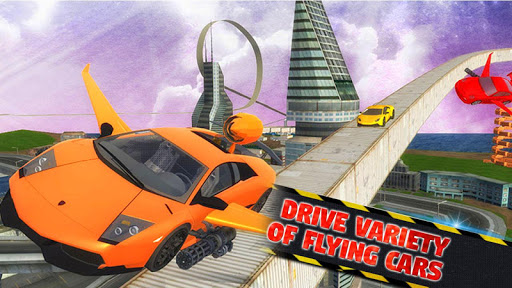 Futuristic Flying Car Ultimate - Aim and Fire 2.5 screenshots 4