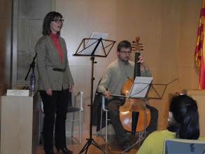Photo: Duet Fonèsia: Mireia Latorre i Peter Krivda