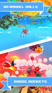 PixWing - Flying Retro Pixel Arcade Screenshot