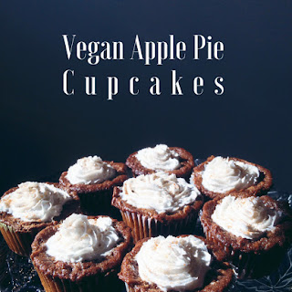 Vegan Apple Pie Cupcakes