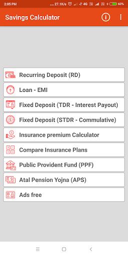 Savings Calculator : EMI Pro  screenshots 1