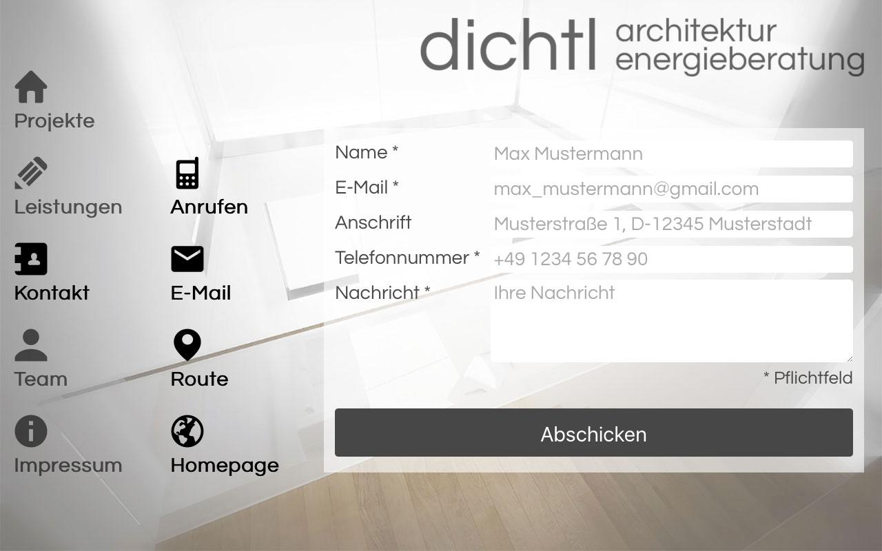 dichtl architektur android apps on google play. Black Bedroom Furniture Sets. Home Design Ideas