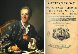 Photo: Denis Diderot (1713-1784) set out to create an encyclopedia of crafts in the 18th century. The entire encyclopedia was published between 1751 and 1772 and comprised 17 volumes of text with 11 volumes of detailed plates. The plates show how everything in the period was made. It had a huge impact on its own time, and is highly valued by present-day historians as a record of the techniques and vocations of the pre-industrial world. (Jon Crumiller, http://www.crumiller.com/chess/chess_pages/books/DiderotEngravings1776.htm)