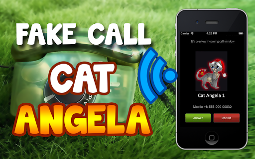 Fake Call Cat Angela
