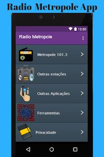 Radio Metropole App - náhled