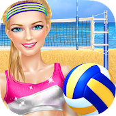 Sporty Girls: Beach Volleyball