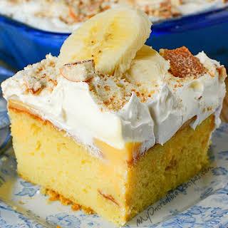 Banana Pudding Lush Cake!.