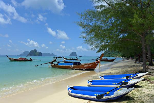 Go ashore on Koh Ngai