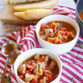 Hearty Winter Beef Stew.