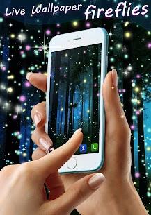 Fireflies Live Wallpaper - náhled